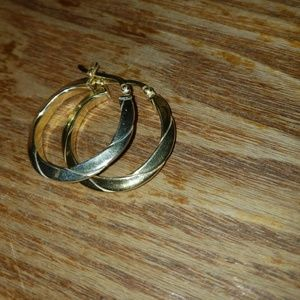 Jewelry - 14-K Gold Plated Hoops
